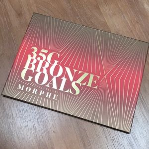 Morphe limited edition 35G Bronze Goals Palette